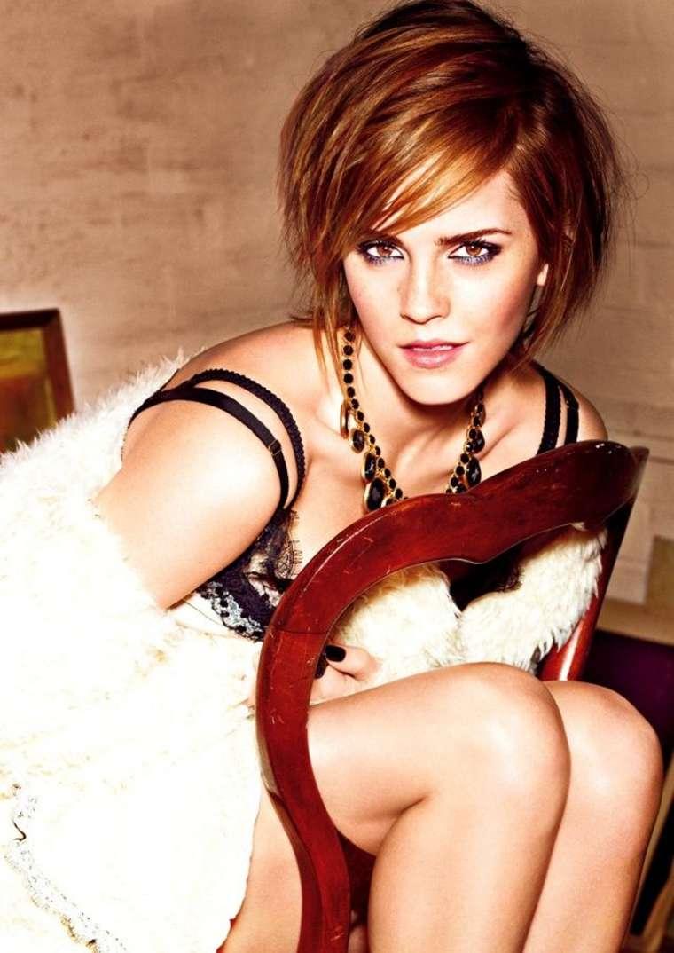 emma watson glamour haircut - photo #3