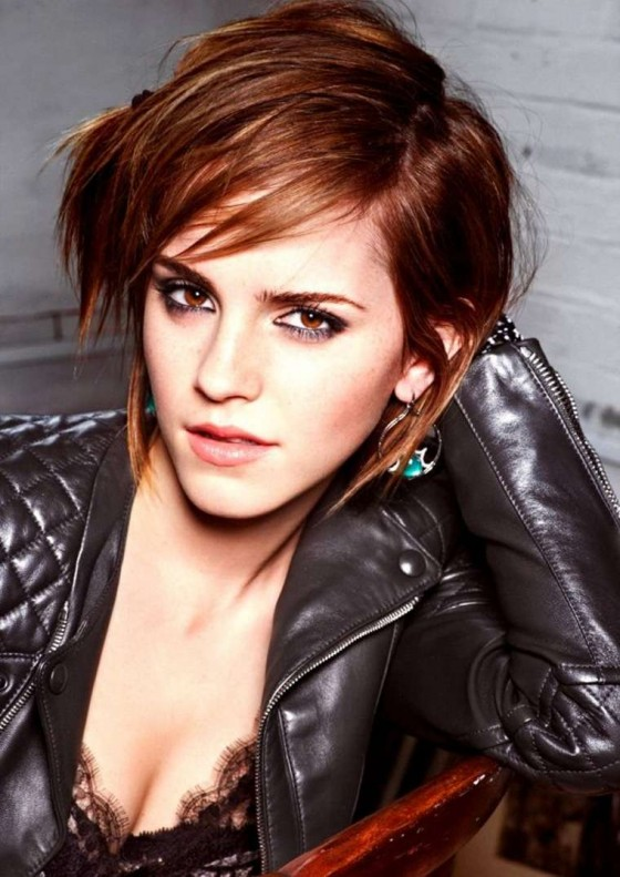 Emma Watson in Glamour Italy - December 2012