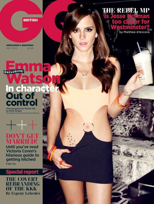 Emma Watson – GQ magazine 2013 -02