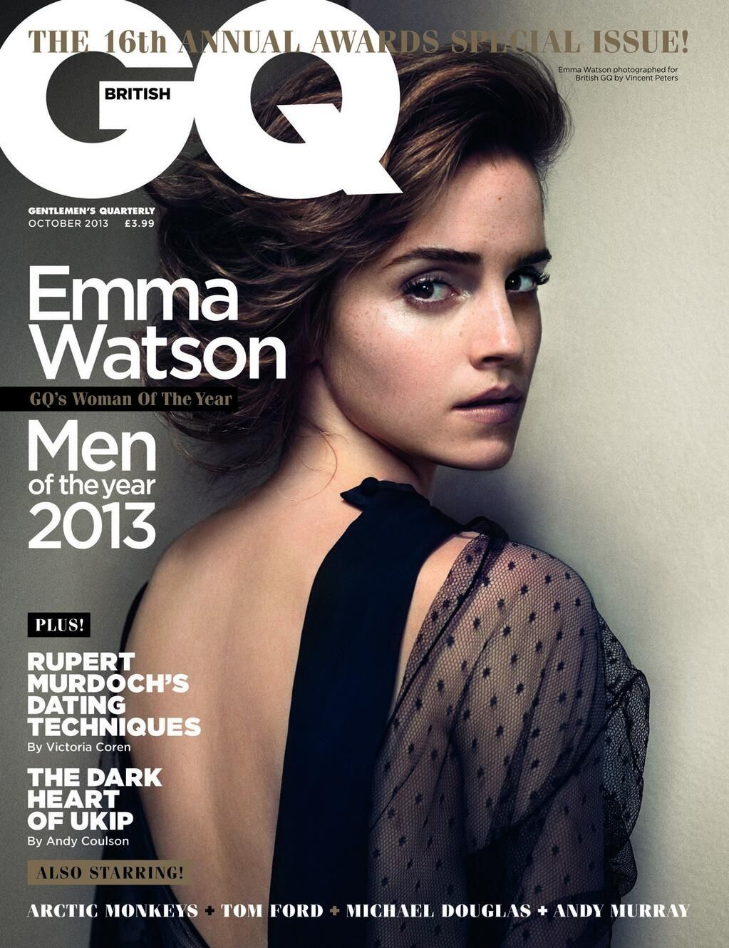 Gq Magazine The Secrets Of R Kelly: Emma Watson Photos: GQ UK October 2013 -02
