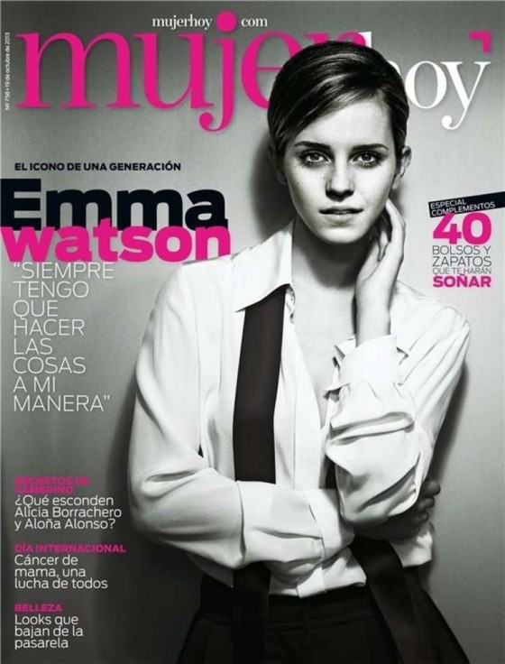Emma Watson: Mujer Hoy Cover -01