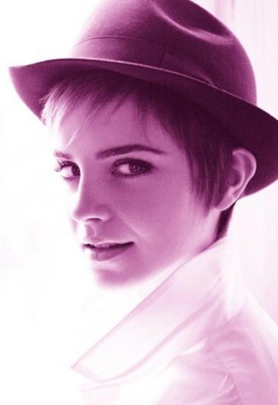 Emma Watson para Lacôme.