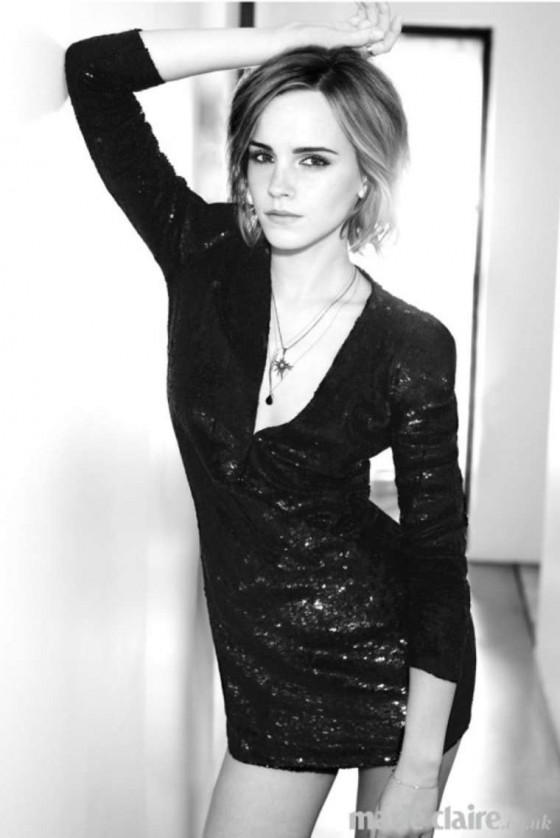 Emma Watson – Marie Claire UK magazine (February 2013)