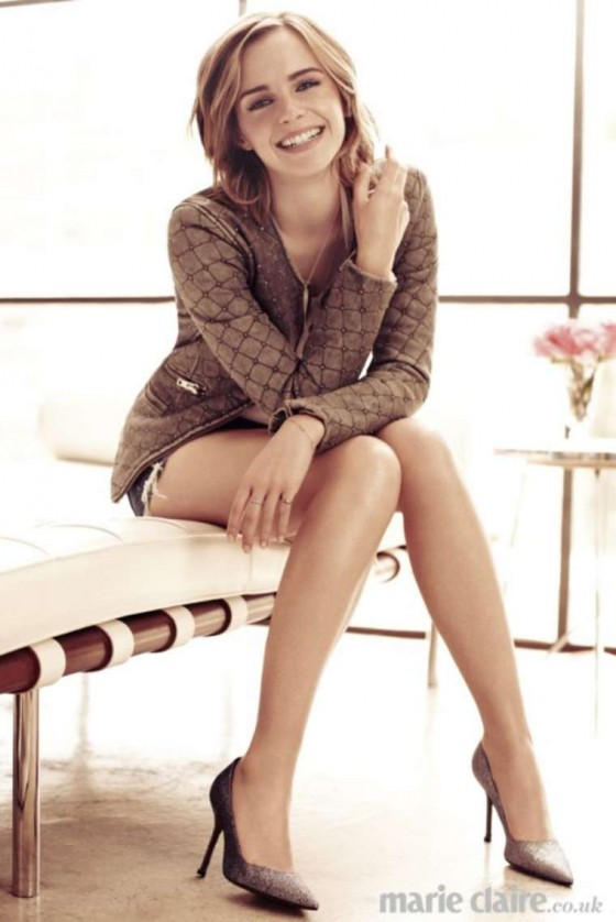 Emma Watson - Marie Claire UK magazine (February 2013)