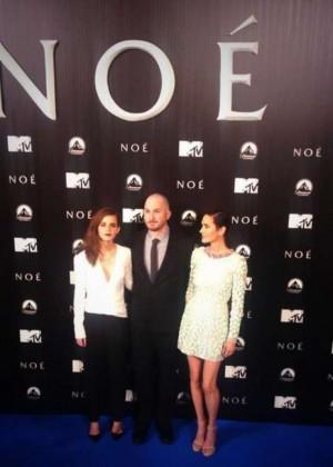 Emma Watson : Noah Madrid Premiere -04