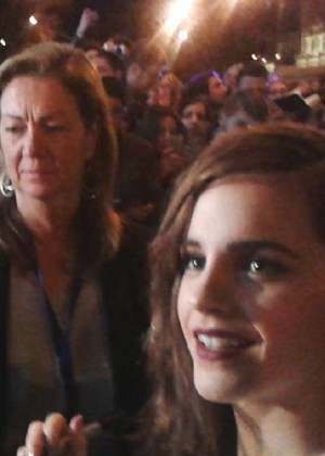 Emma Watson : Noah Madrid Premiere -10
