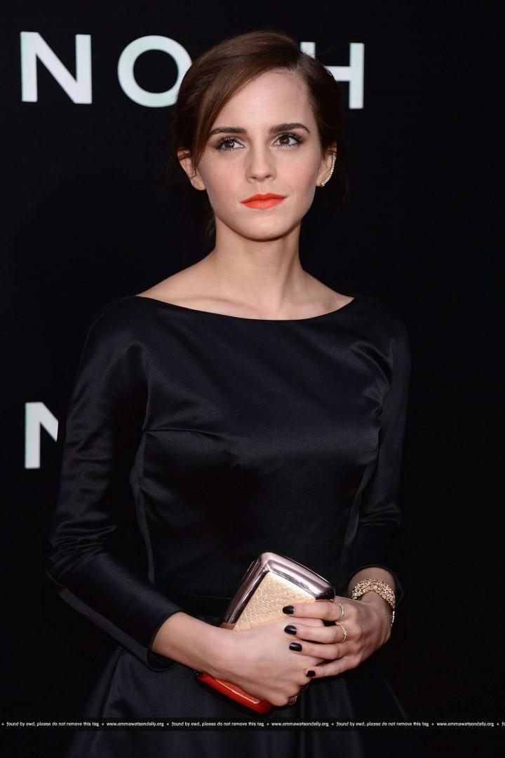 """Emma Watson – """"Noah"""" Premiere in NY"""