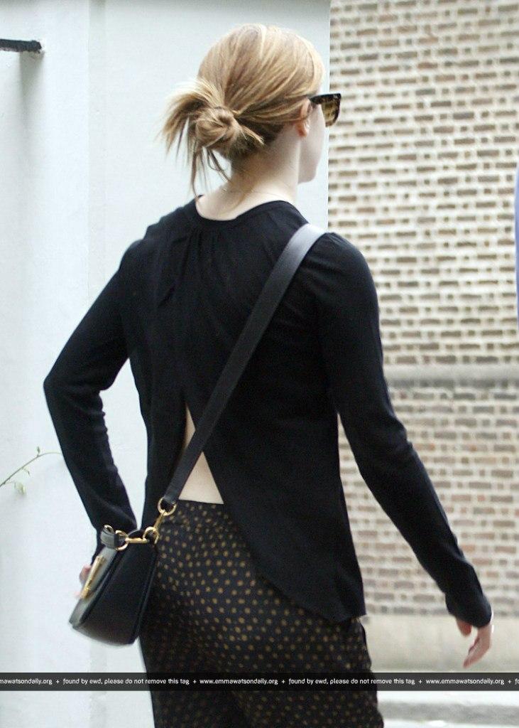 Emma watson no back style 12 gotceleb Emma watson fashion and style