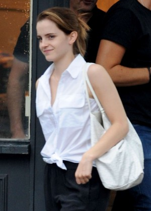 Emma Watson Seen out in London