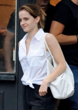 Emma Watson Seen out in London