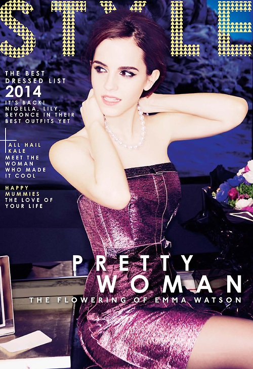 Emma Watson: The Sunday Times Style Magazine -01