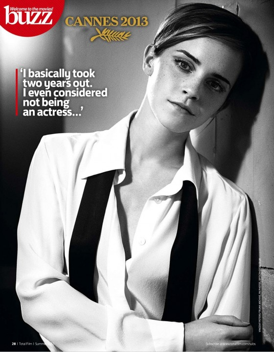 Emma Watson - Total Film Magazine 2013 -01