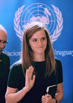 Emma Watson - UN Women Event in Montevideo, Uruguay