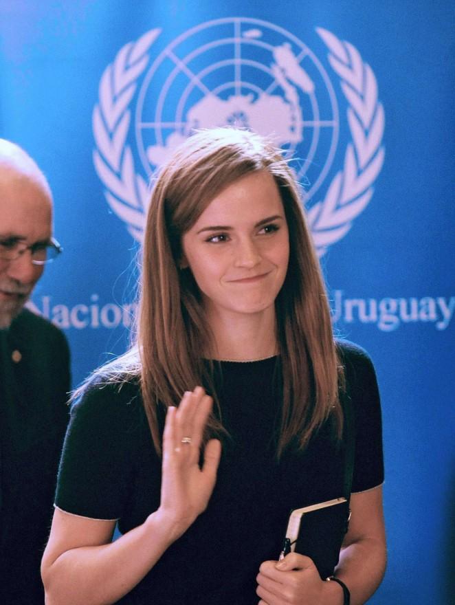 Emma Watson - UN Women Event in Montevideo, Uruguay
