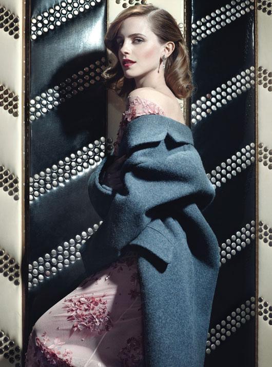 Emma Watson W magazine 2013 -02