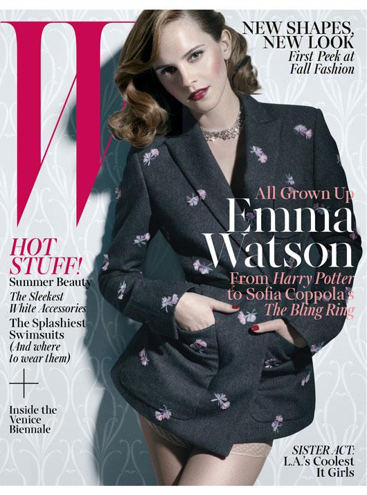 Emma Watson W magazine 2013 -03
