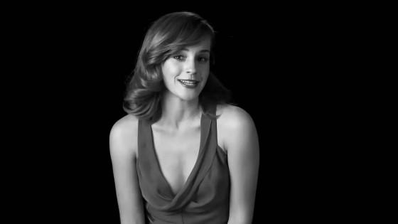 Emma Watson in W Magazines Screen Tests -01