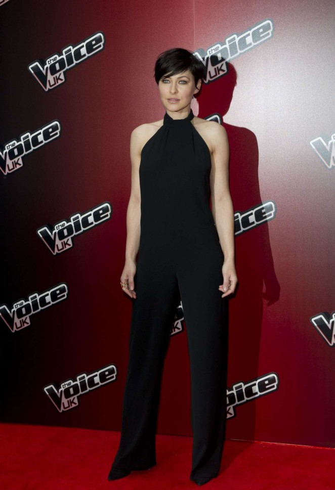 Emma Willis - The Voice Uk Series 4 Launch Photocall in London