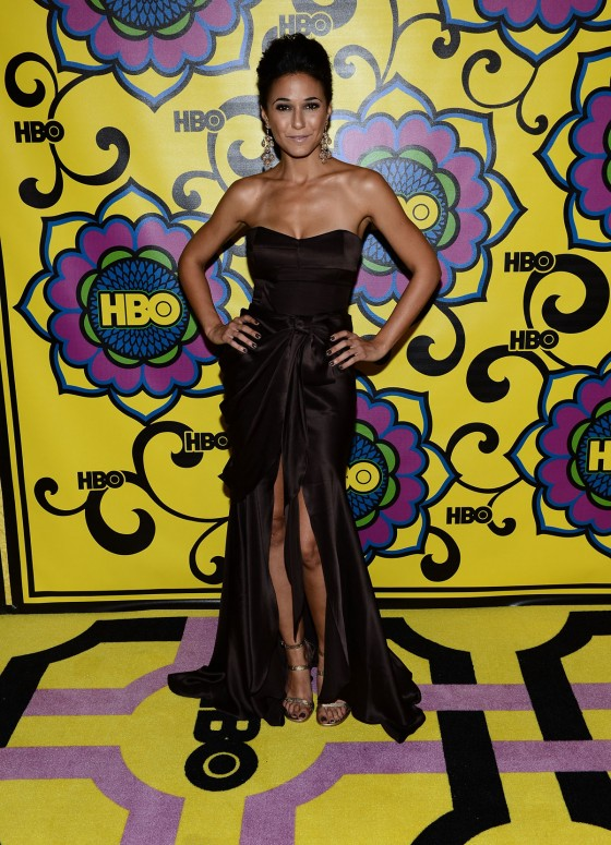 Emmanuelle Chriqui - 2012 HBO Emmy After Party