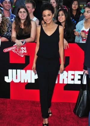 Emmanuelle Chriqui: 22 Jump Street premiere -08