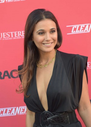 Emmanuelle Chriqui - Crackle Sequestered & Cleaners Premieres in West Hollywood
