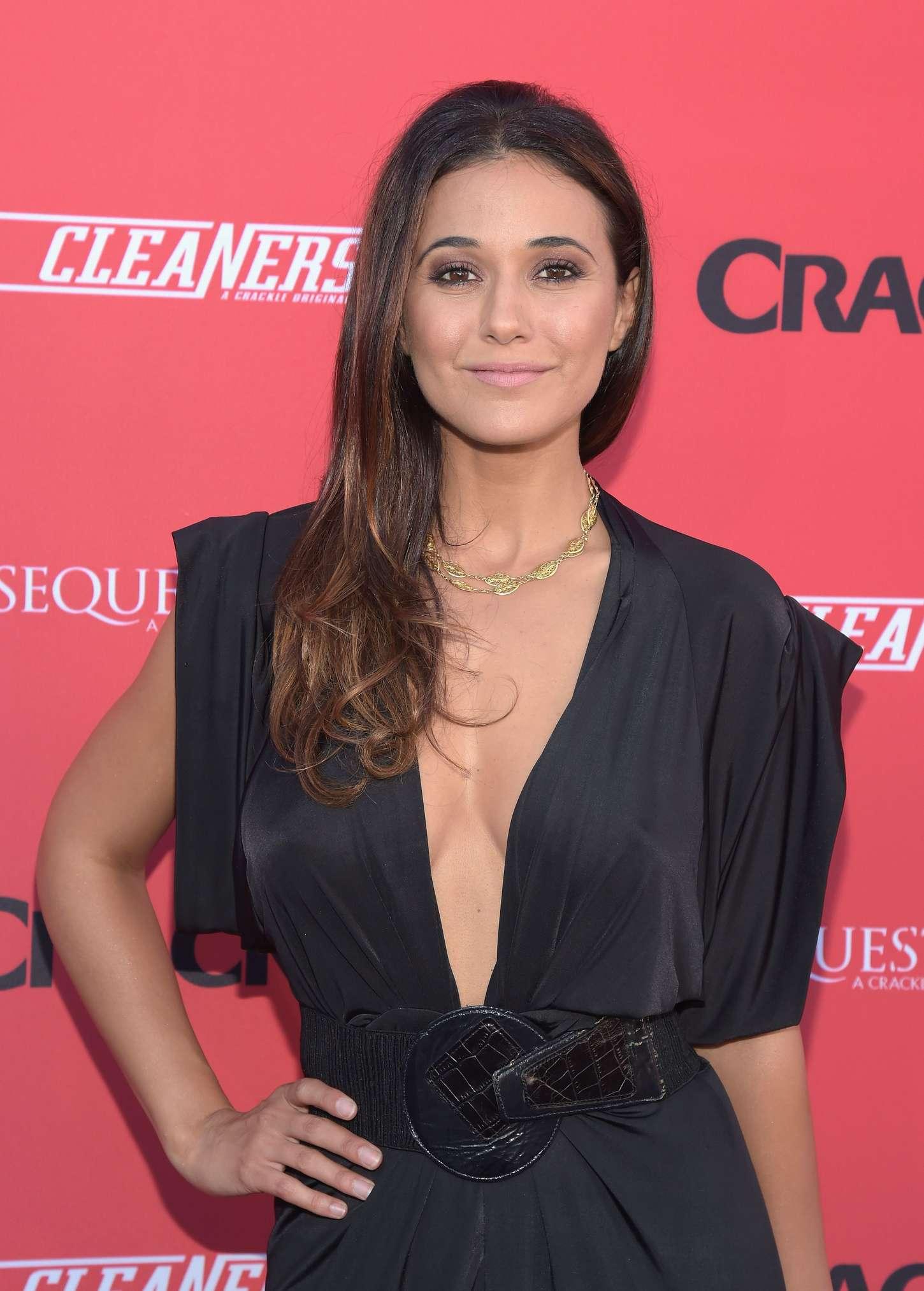 Emmanuelle Chriqui 2014 : Emmanuelle Chriqui: Cleaners Season 2 Premiere -06