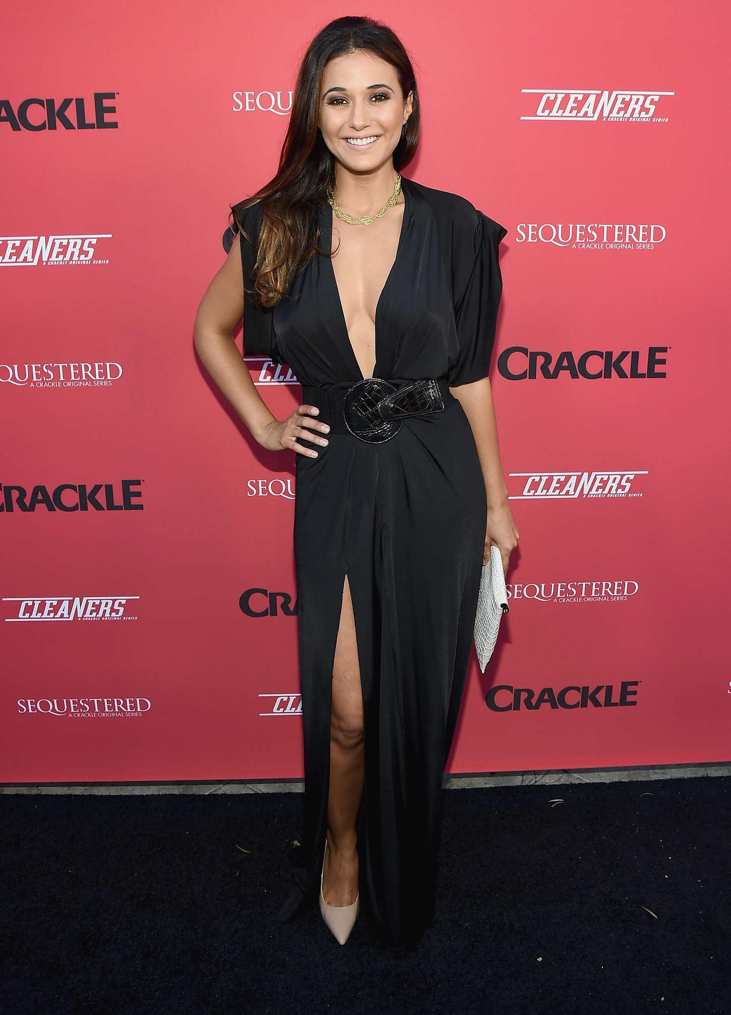 Emmanuelle Chriqui 2014 : Emmanuelle Chriqui: Cleaners Season 2 Premiere -18