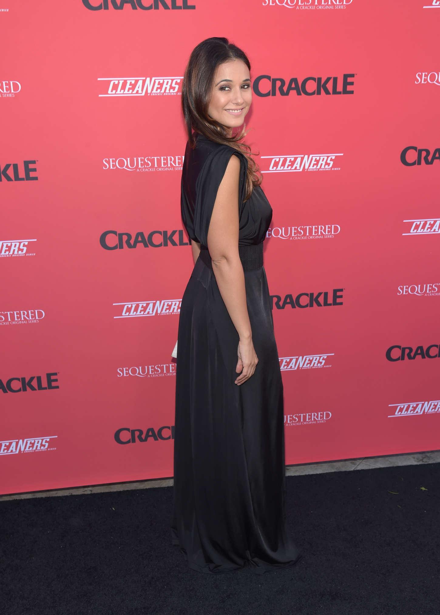 Emmanuelle Chriqui 2014 : Emmanuelle Chriqui: Cleaners Season 2 Premiere -24