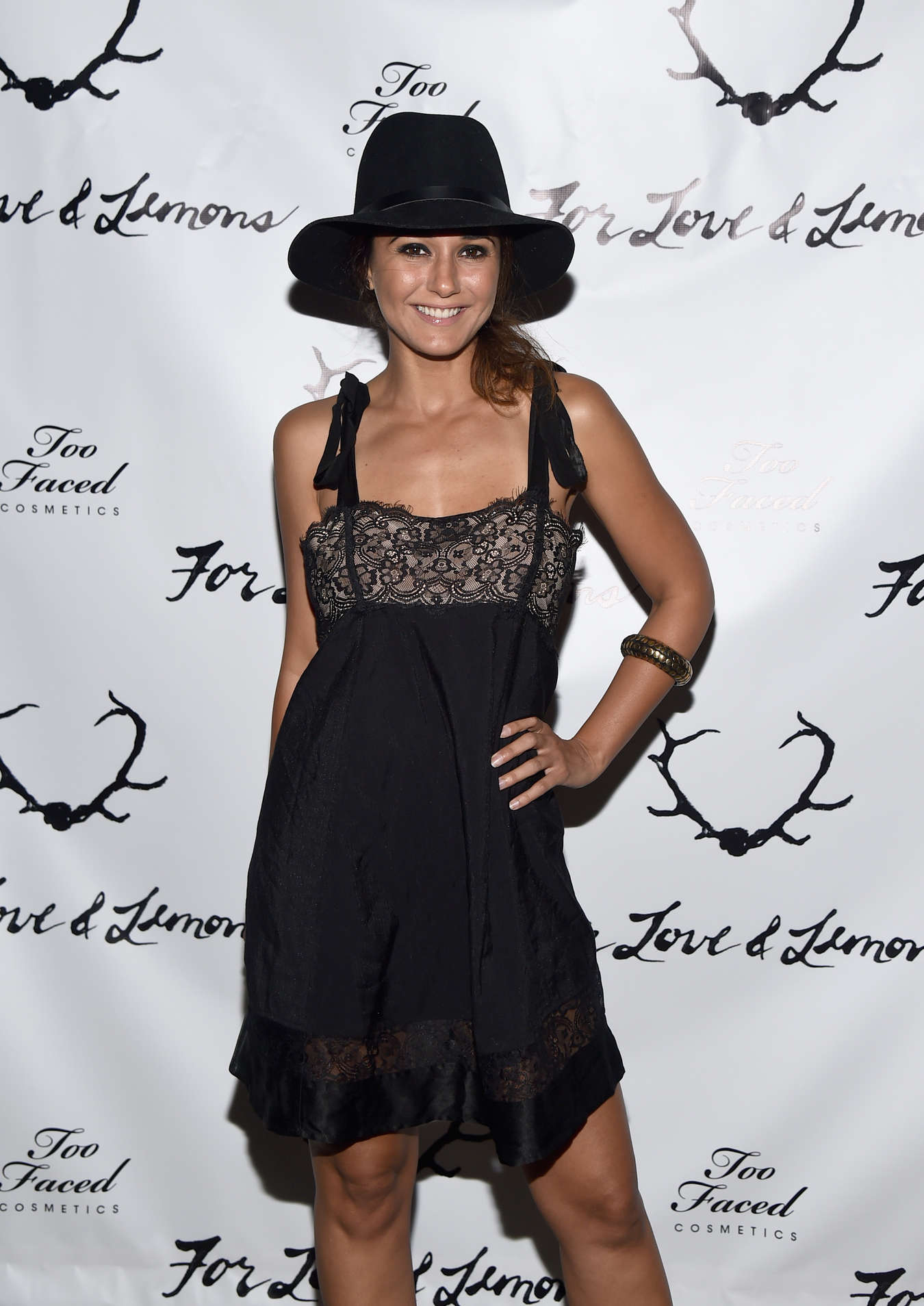 """Emmanuelle Chriqui - """"For Love and Lemons"""" annual SKIVVIES party"""
