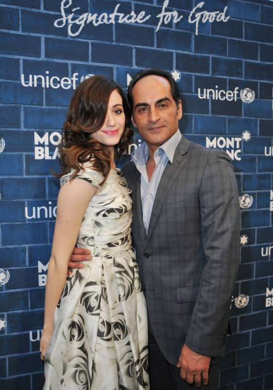Emmy Rossum – Montblanc and Unicef Pre Oscar Charity Brunch -19