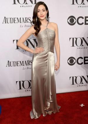 Emmy Rossum - 68th Annual Tony Awards in NY -01