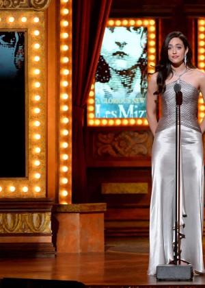 Emmy Rossum - 68th Annual Tony Awards in NY -02