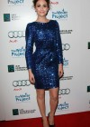 Emmy Rossum - Hot in Blue Dress at The Ripple Effect Charity Event -01