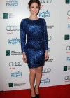 Emmy Rossum - Hot in Blue Dress at The Ripple Effect Charity Event -05