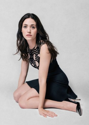 Emmy Rossum - 'The Art of Discovery: Hollywood Stars Review Their Inspirations' 2014 by Jeff Vespa