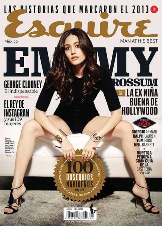 Emmy Rossum: Esquire Mexico -01