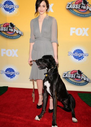 Emmy Rossum - FOX's Cause For Paws: An All-Star Dog Spectacular in Santa Monica