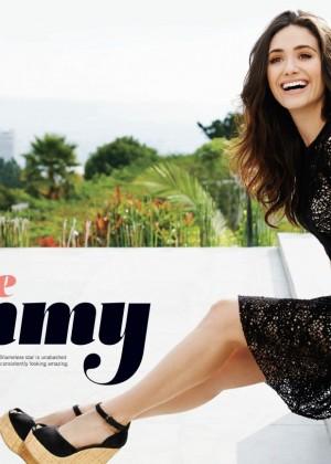 Emmy Rossum: Natural Health Magazine -01