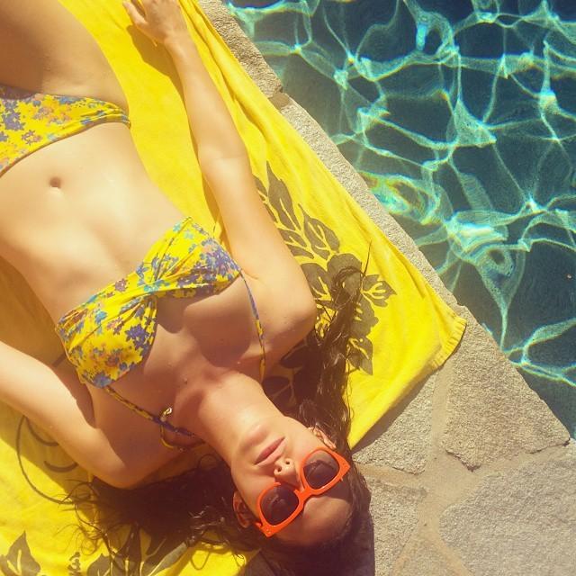 Emmy Rossum One Bikini Pic