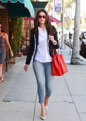 Emmy Rossum in Tight Jeans out in Beverly Hills