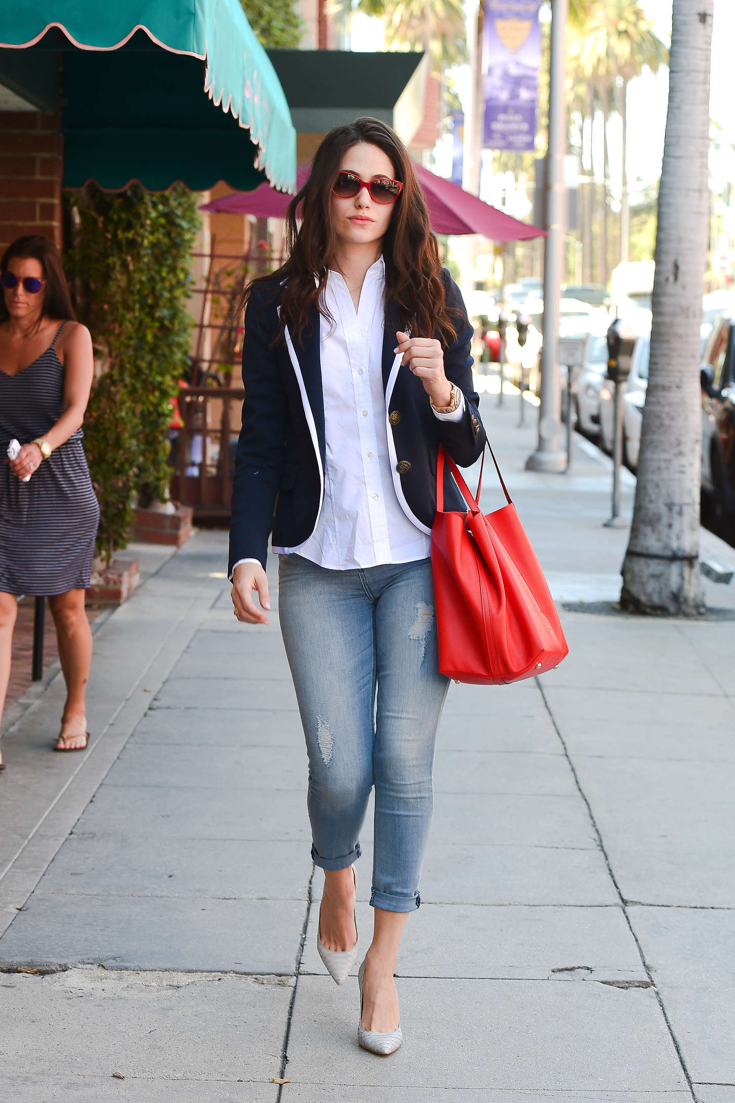 Emmy Rossum in Tight Jeans -27 - GotCeleb