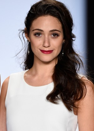 Emmy Rossum - Project Runway Fashion Show 2014 in NYC