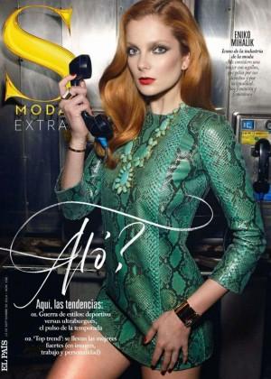 Eniko Mihalik - S Moda Spain Magazine (Septiembre 2014)