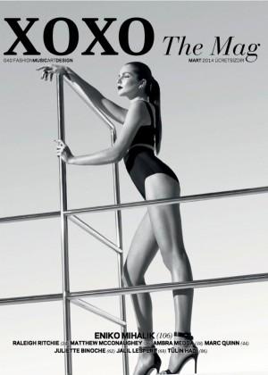 Eniko Mihalik: XOXO Magazine -10