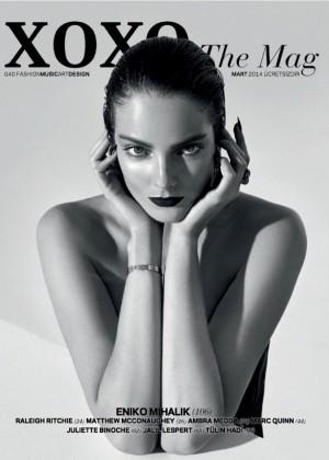 Eniko Mihalik: XOXO Magazine -17