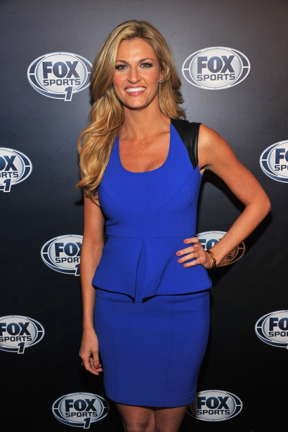 Erin Andrews - FOX Sports 2013 after party -02