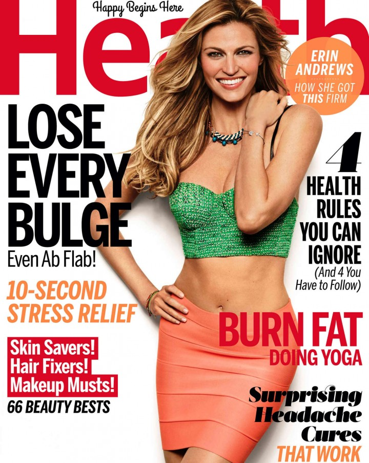 Erin Andrews - Health Magazine (September 2014)