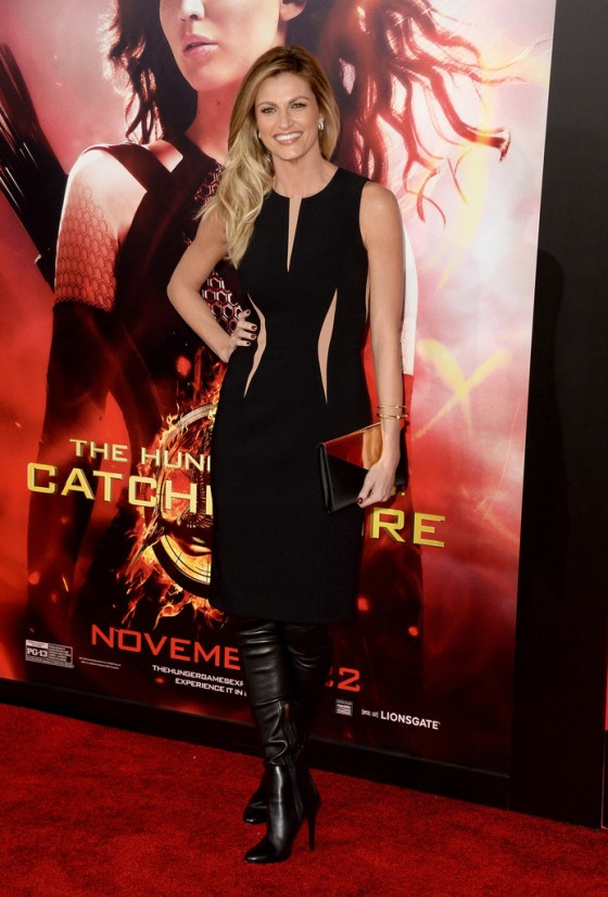 Erin Andrews - The Hunger Games: Catching Fire Hollywood Premiere -02
