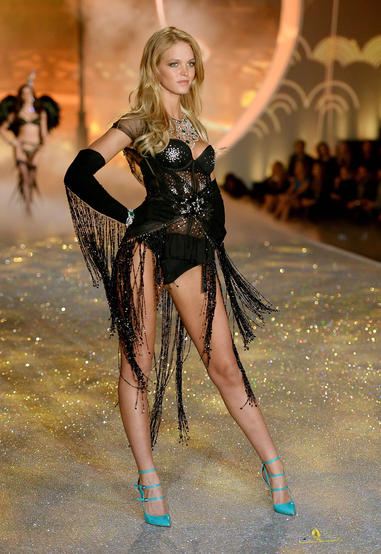 Erin Heatherton Victorias Secret Fashion Show Runway