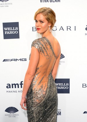 Erin Heatherton: 2014 amfAR New York Gala -07